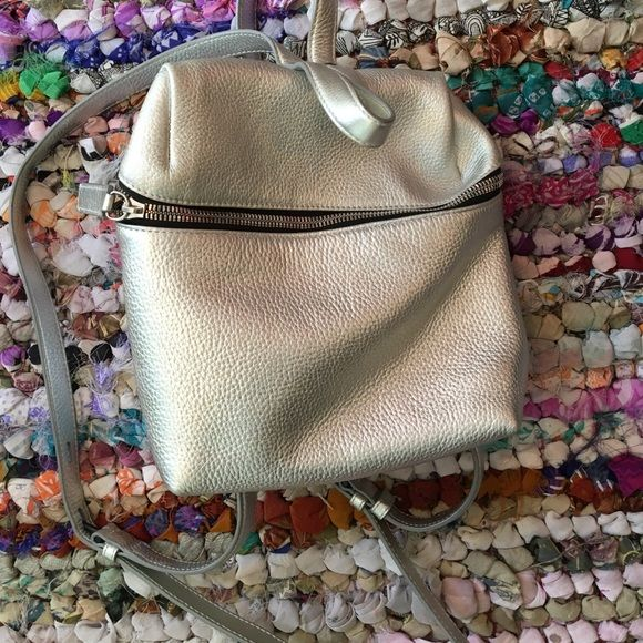 kara silver backpack great condition only used a couple times. as seen on rihanna KARA Bags Backpacks