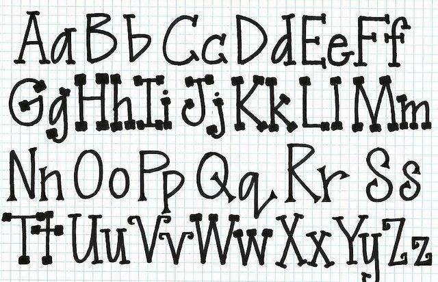 simply serifs by denisedaysmith, via Flickr