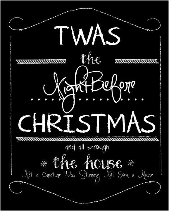 85 best The Night Before Christmas images on Pinterest | Christmas ...