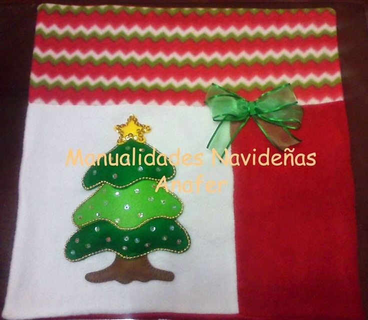 Manualidades Navideñas Anafer: Cojines navideños  cojines ...