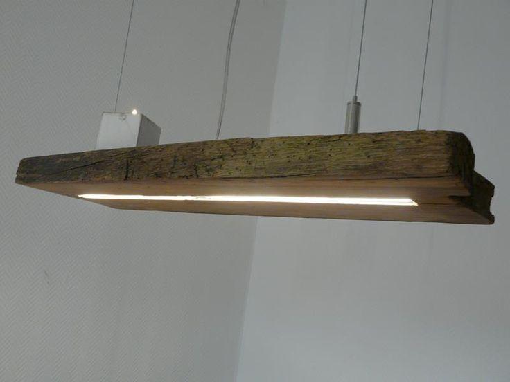 LED Lampe Hängeleuchte Holz antik Balken Leuchte in Möbel & Wohnen, Beleuchtung, Deckenlampen & Kronleuchter | eBay!