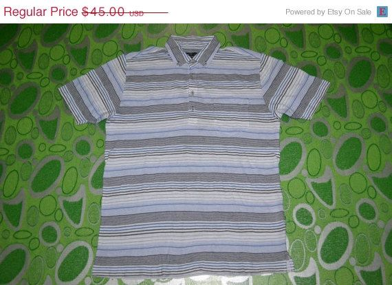 ON SALE 20% Authentic KANSAI Yamamoto Up To You casual designer 90s L Size polo shirt by OldSchoolZone on Etsy