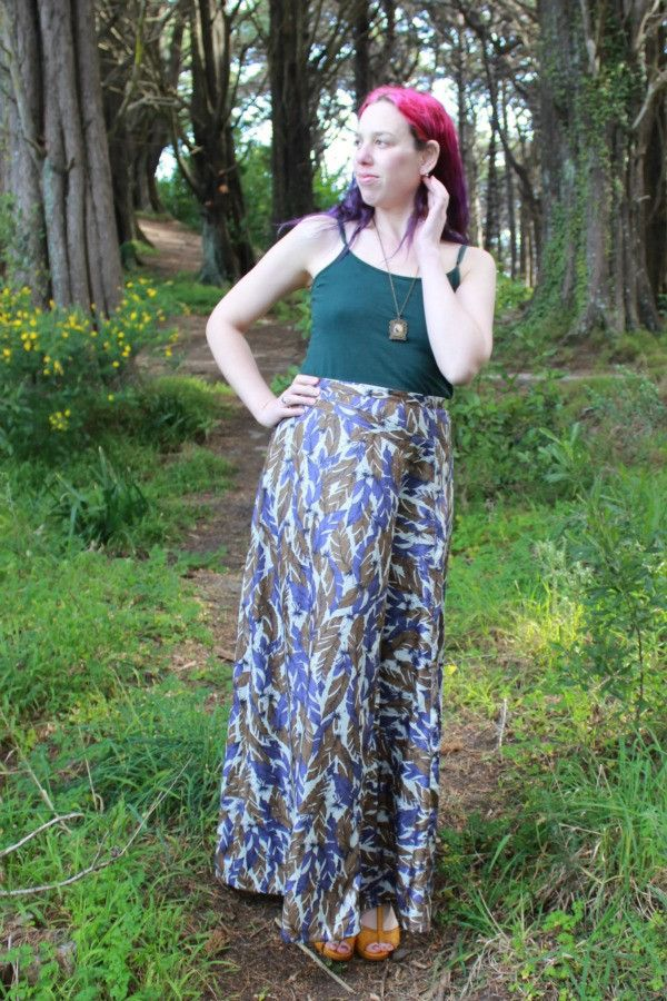 Tahi skirt - maxi length