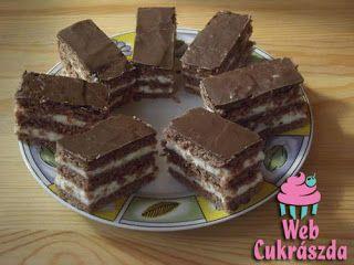 Receptek, és hasznos cikkek oldala: Tejbegrízes-kakaós szelet