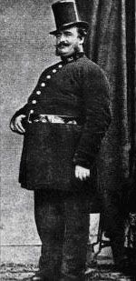 1850s Metropolitan Policeman Tom Smith.
