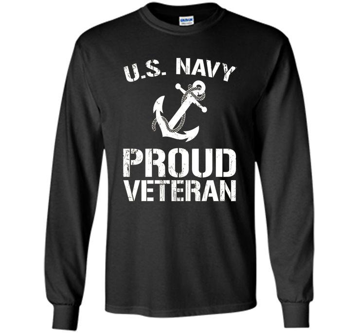 US Navy Proud Veteran T-shirt America US Navy T-shirt