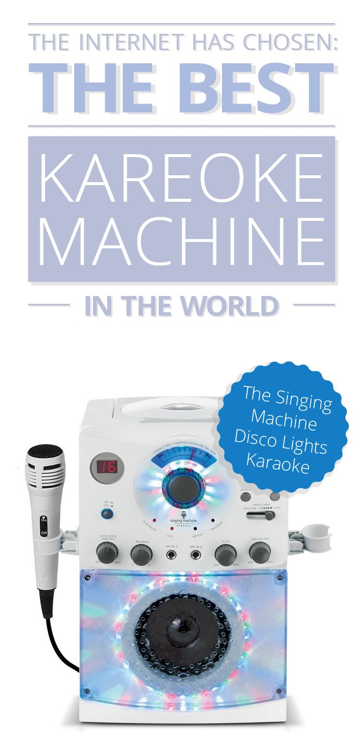 The internet has chosen the best of the best Karaoke Machines and this is a real gem! We would love to hear from you!  Check out the full list to see which other best rated products this pop-star out sung for the top spot: http://www.comparaboo.com/karaoke-machines?origin=googled2 and let us know what you think!