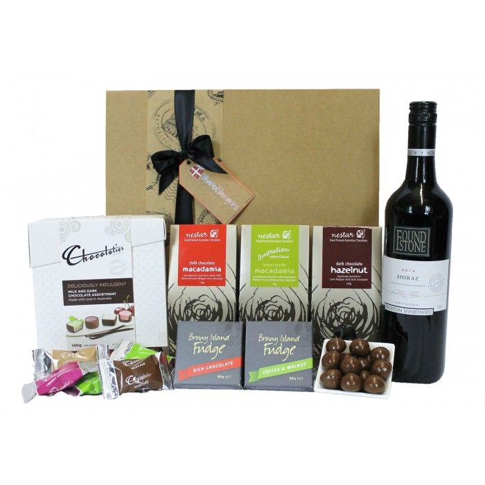 Thanx Hampers - Chocolate and Wine Lovers
