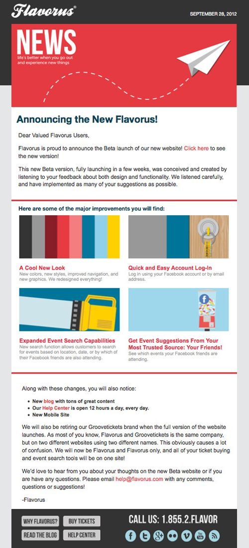 47 best images about email newsletter inspiration on for Beautiful newsletter design