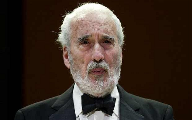 06/07/2015 - Sir Christopher Lee, dies at 93 - latest reaction and tributes - Telegraph