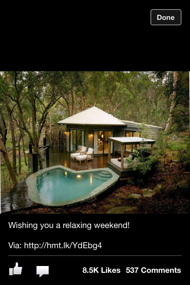 Beautiful Pool House Small Pool Beautiful Home Pinterest
