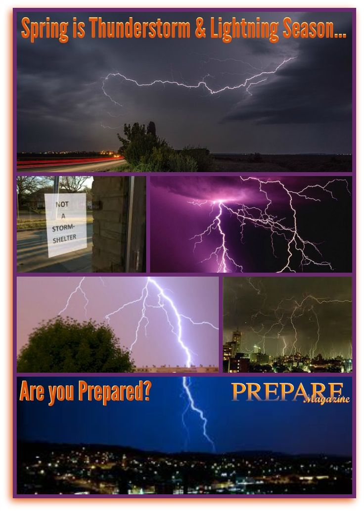 Day 3 of our focus on Severe Spring Weather Awareness. Do you take Thunderstorms & Lightning seriously? Read this. You should know this stuff! PLEASE LIKE AND PIN to help others Prepare!