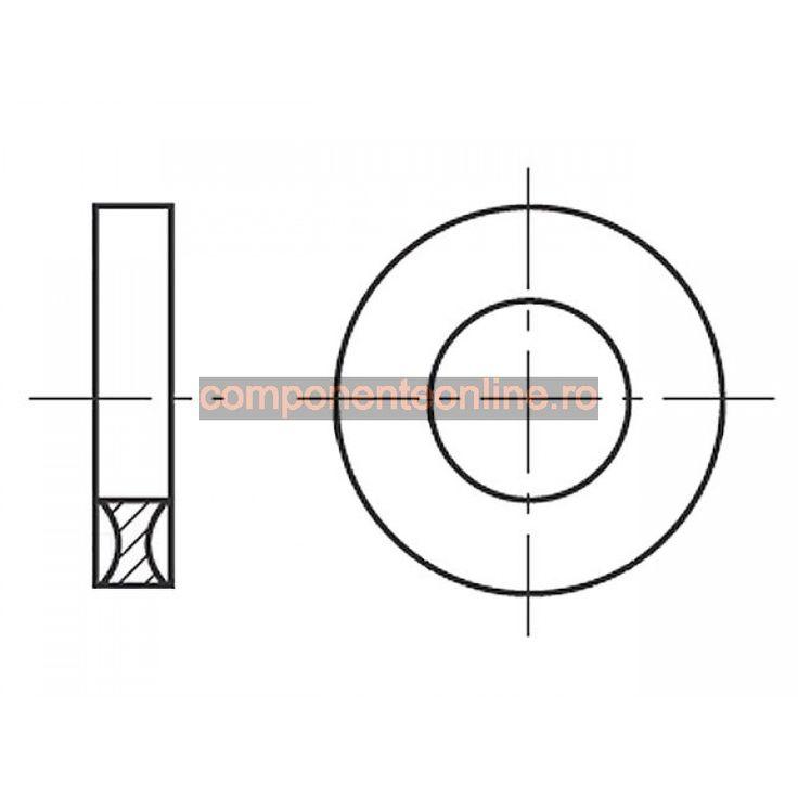 Saiba rotunda, 2,1x5,3mm, poliamida, Bossard - 007189