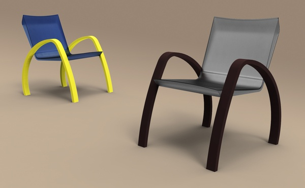 Gray // Lounge Chair by Luis Castanheira, via Behance