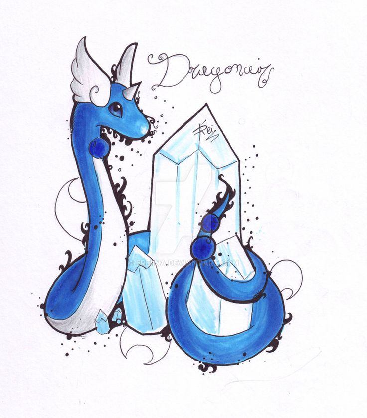 Dragonair by eREIina.deviantart.com on @DeviantArt