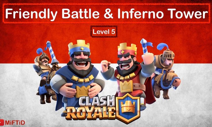 Clash Royale Indonesia – Live Friendly Battle