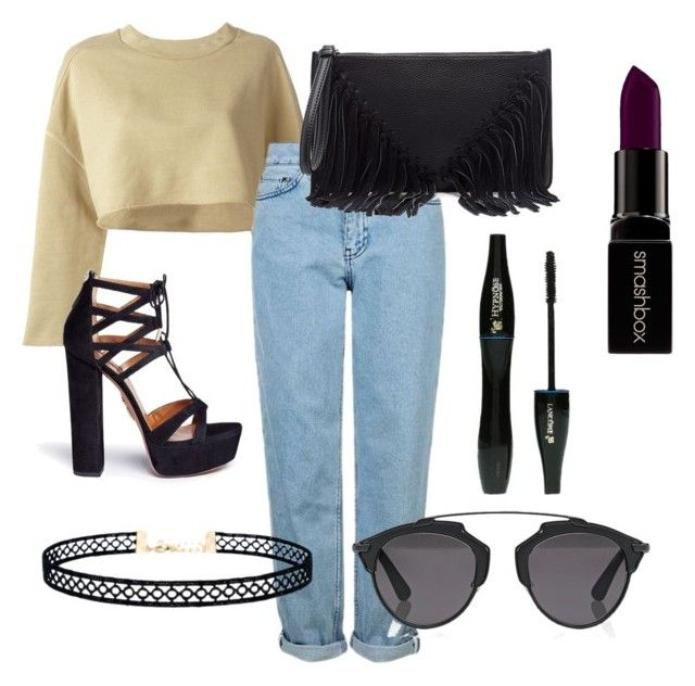 """#23"" by mercedes93 on Polyvore featuring moda, adidas Originals, Topshop, Aquazzura, Sole Society, Christian Dior, LULUS, Smashbox i Lancôme"
