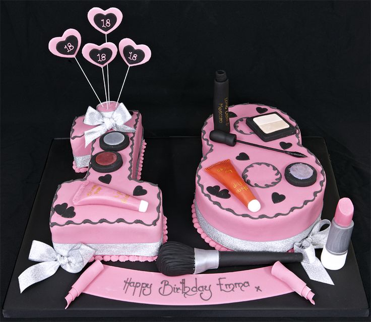 18th Birthday Ideas! (cakes!) - Birthday cake for girls 18 ...