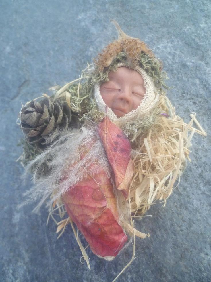 Sleeping Baby Fairy OOAK Skulptur. | dolls | Pinterest ...