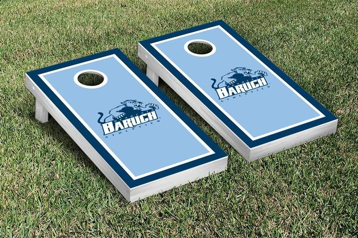 Cornhole Game Set - Baruch College CUNY Bearcats Border Version - 26063