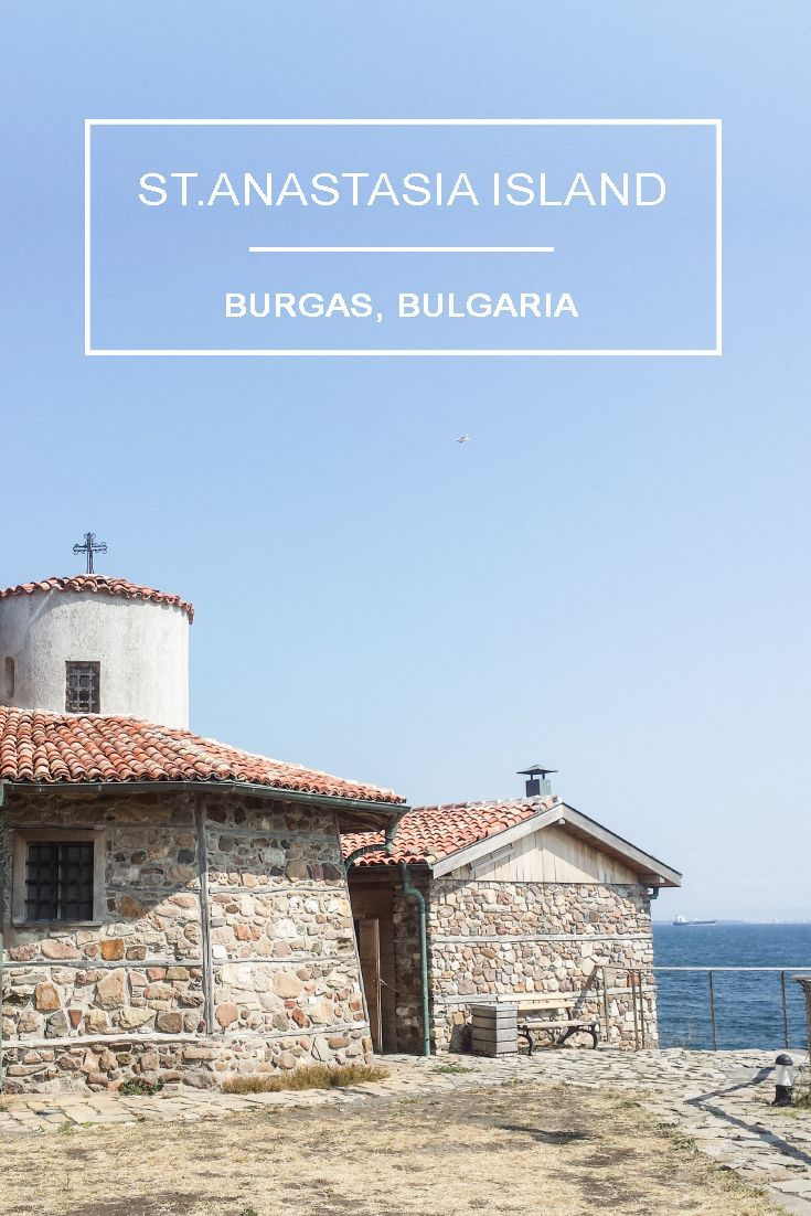 Travel to Bulgaria's seaside - St.Anastasia Island in Burgas  https://eostories.com/2016/08/20/st-anastasia-island-in-burgas-bulgaria/