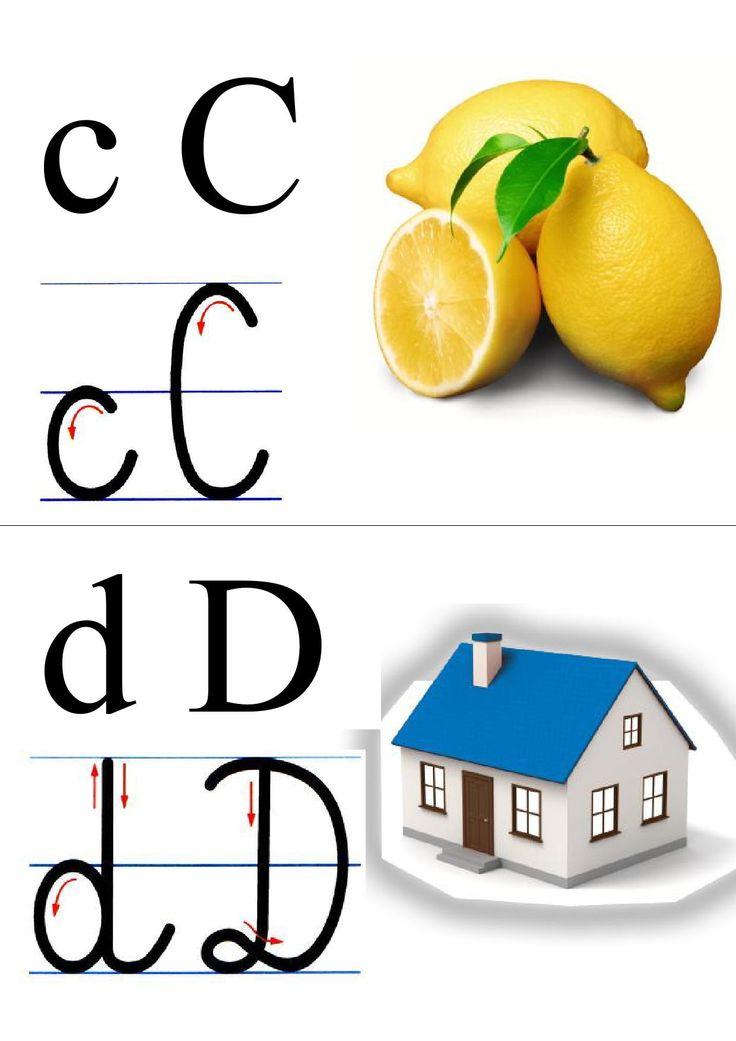 alfabet + obrazek do druku 2