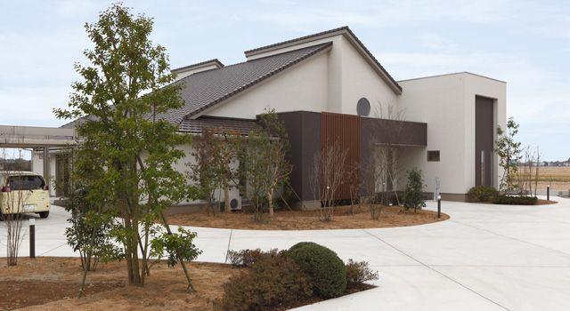和モダンな平屋の家 建築実例 注文住宅のアキュラホーム