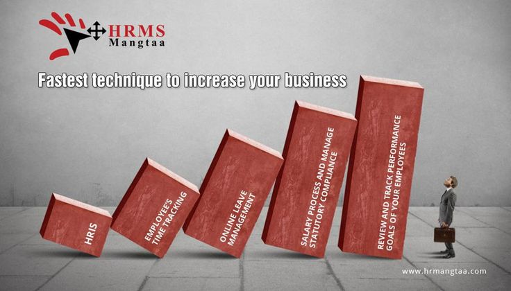Fastest #technique to #increase your #business. Try HRMS Mangtaa for free http://demo.hrmangtaa.com/free_trail.aspx #HRIS #TimeTracking #LeaveManagemenT #Salaryprocess #statutorycompliance #Track #Performance #Goals