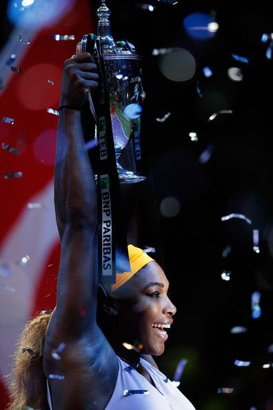 World #1 Serena Williams Wins WTA Championships: Istanbul 2013! Serena's 2013 on-court earnings top $12,385,572 in prize money, shattering the all-time women's record set last year by Victoria Azarenka ($7,923,920). Serena now has the 3rd-highest single season prize money total in tennis history (men's & women's). Only Djokovic's 2011, 2012 totals are higher. 10/27/13 #Fantastic <3 #TEAMSERENA