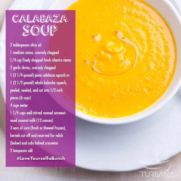 calabaza corn and coconut soup coconut soup you are food network ...