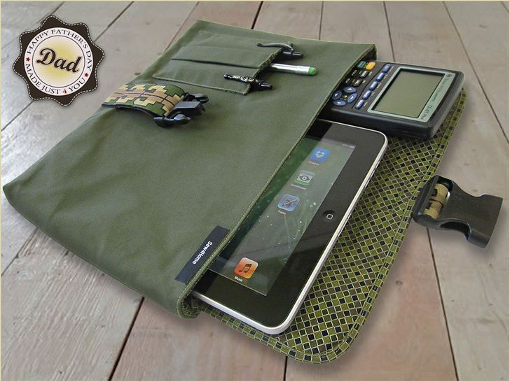 Sew an iPad Case for Dad This Fathers Day!  by Sew4Home