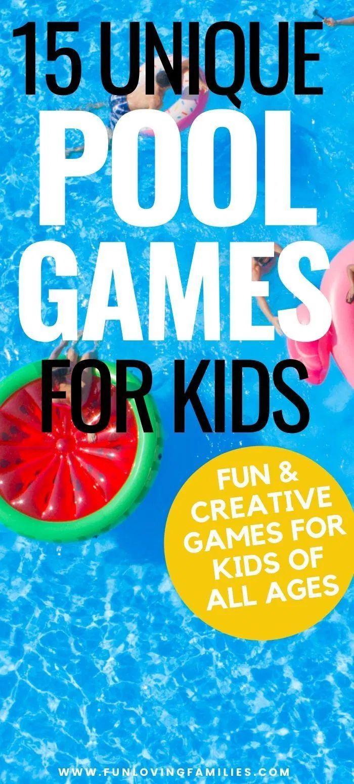 15 Fun Pool Party Games for Kids Fun Loving Families in