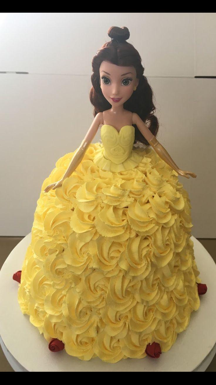 The 25 best Belle cake ideas on Pinterest Princess belle cake