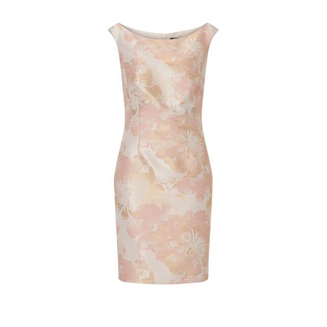 Vera Mont Printed Dress Pink