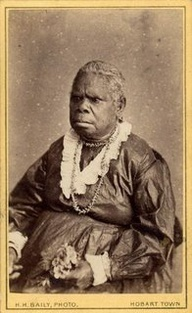 Truganini (1812-1876) Tasmanian Aboriginal woman. What did we do to an island's race?