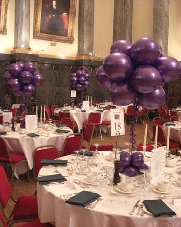 Air filled 12 balloon cluster the cutlers hall sheffield for Balloon cluster decoration