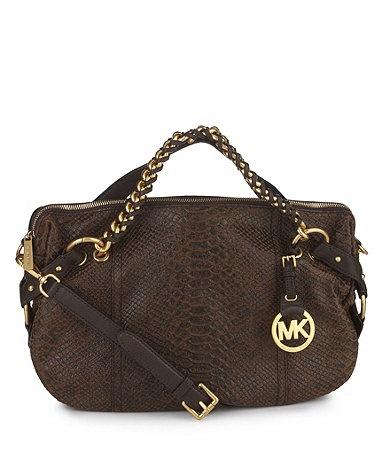 $224 Available at Dillards.com #Dillards Tristan Convertable satchel �  SatchelDillardsSwag BagsConvertibleMichael Kors