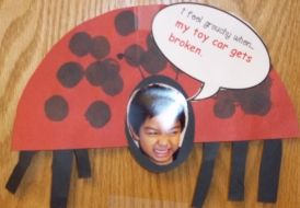 the grouchy ladybug ... bug week idea