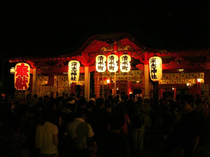 深志神社のお祭り
