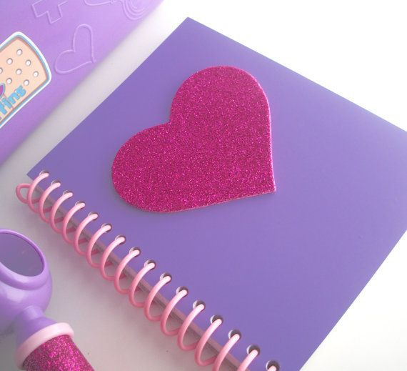 58 best disney doc mcstuffins theme party images on pinterest doc mcstuffins handmade big book of boo boos refillable purple notebook for party favors costume solutioingenieria Gallery