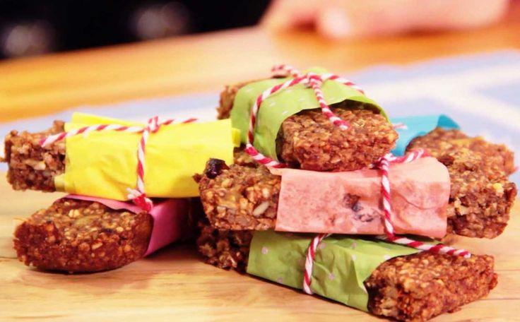 Barrinhas caseiras: confira a receita da chef Tati Lund, que leva castanha do Brasil e amêndoas entre os ingredientes