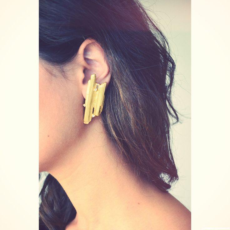 Carolina Curado BeaMinerals sy Earrings www.carolinacurad...