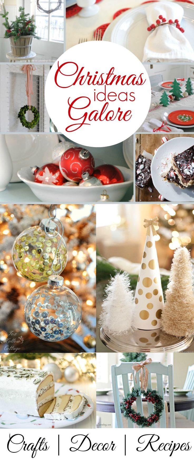Christmas Diy: Decor Crafts Dessert Recipes and Ideas | #Christmasideas