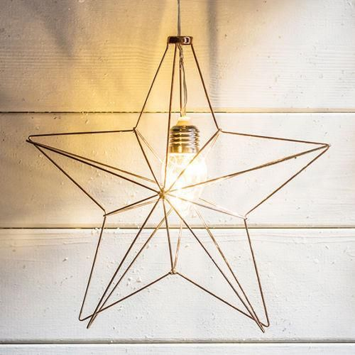 Main Colour: Copper 5 Warm White Micro LEDs In A Clear Teardrop Bulb Star Diameter 25cm, Cable Length 1m Requires 3 x AA Batteries (Not Included) 6 Hour Timer