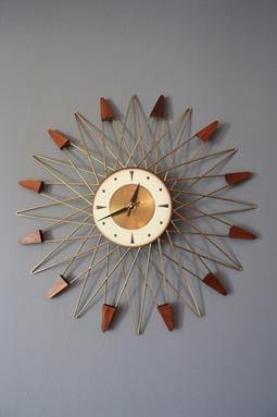 1000 Ideas About Sunburst Clock On Pinterest George