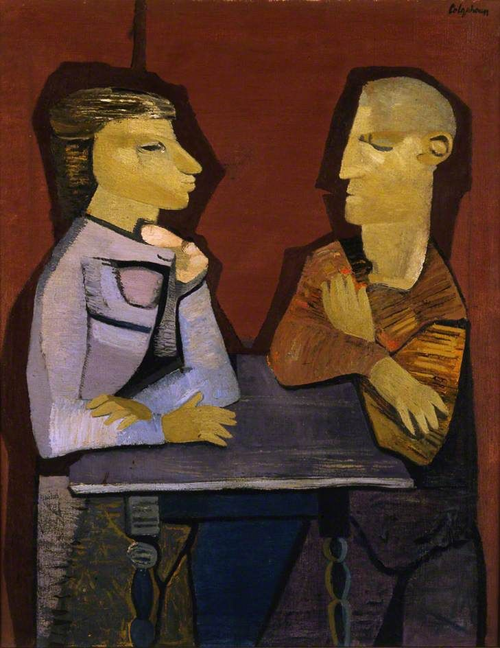 The Students by Robert Colquhoun