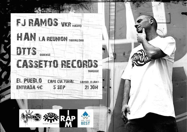 Rap/Hip-Hop: Fj.Ramos + artistas invitados en Ourense en El Pueblo Café Cultural, Ourense Concierto / concerto / música