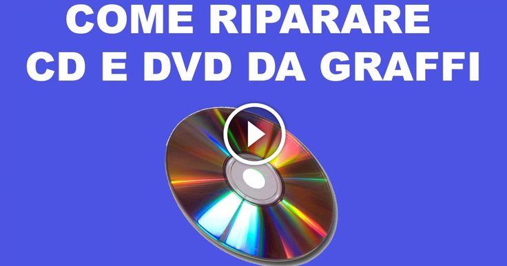 ELIMINARE GRAFFI DA CD E DVD