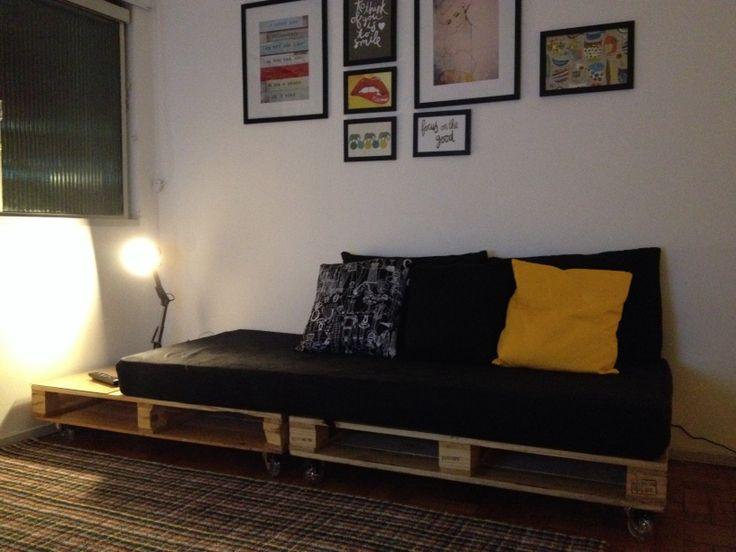 Diy Furniture Makeover Sofa Palet Pallet Furniture