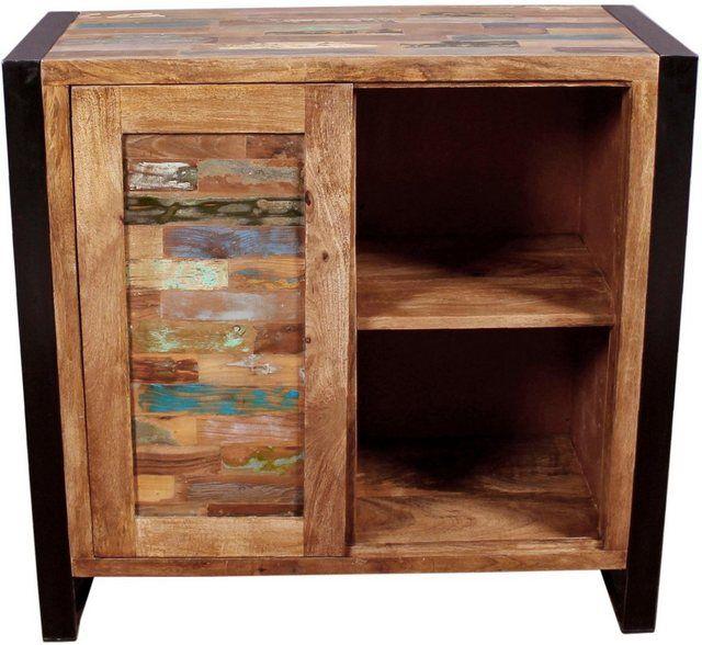 Im Modernen Vintage Look Erganzt Die Kommode Mox Sit Die Eigenen Vier Wande Ihre Optik Wi Otto Sit Einrichten Kommoden K Kommode Modern Altholz Holz